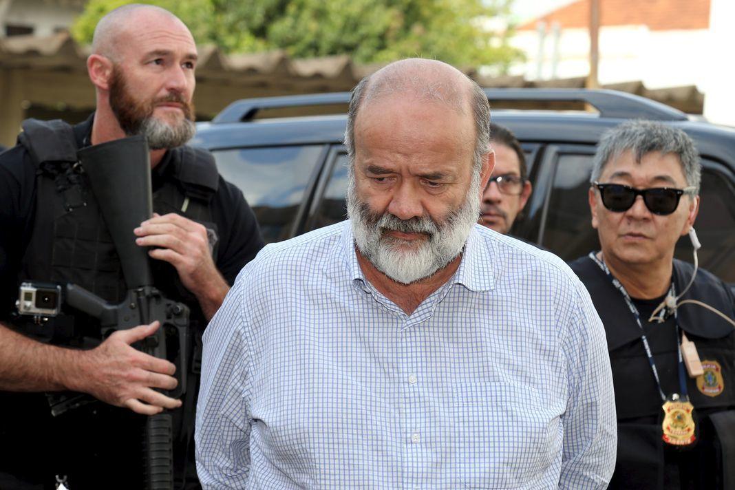 15 avril 2015, arrestation de Joao Vaccari, trésorier du Parti des travailleurs (PT)
