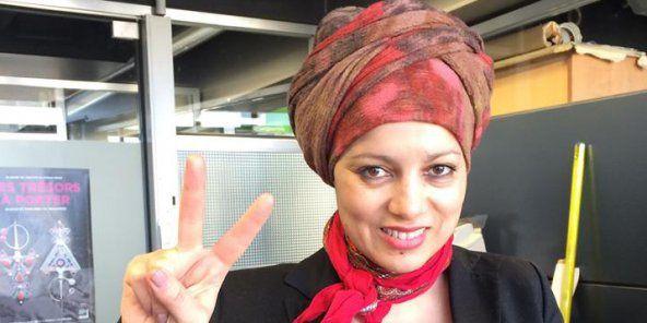 Houria Bouteldja, cofondatrice et militante du Parti des indigènes de la République. © Facebook/Houria Bouteldja
