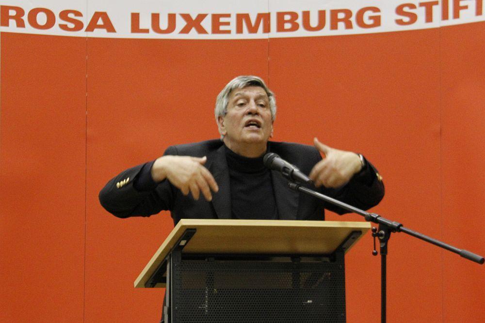 Hermann Scheer,initiateur de la loi allemande sur les énergies renouvelables. Photo DR
