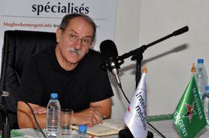 Djijali Hadjadj est président de l'Association algérienne de lutte contre la corruption, porte parole de la section algérienne de Transparency International.Photo DR