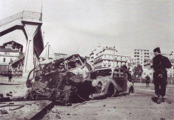 Après l'explosion. Photo DR