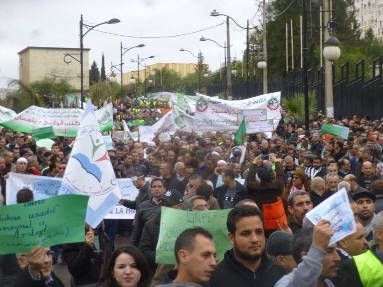 Marche organisée par l'Intersyndicale autonome. Photo DR
