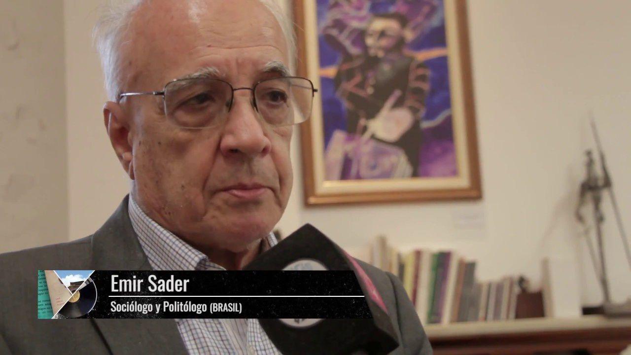 Emir Sader, socioloque et penseur brésilien. DR.