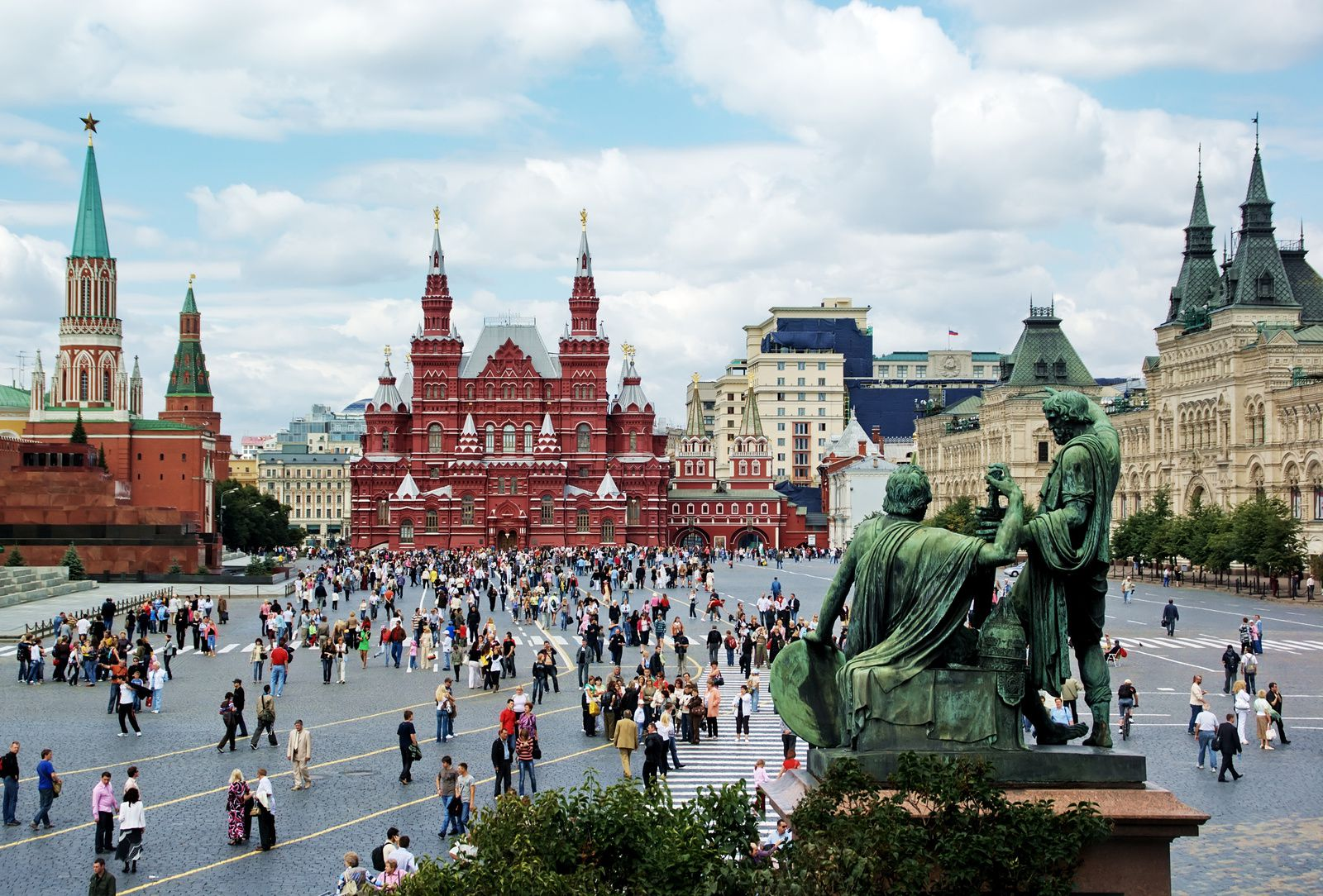 Place Rouge, Moscou. Photo DR