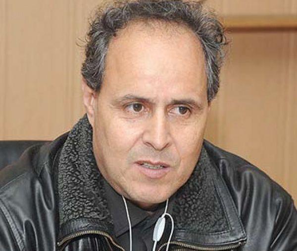 Messaoud Boudiba, porte-parole du Cnapeste, principal syndicat enseignant d'Algérie.