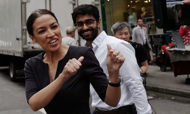 Alexandria Ocasio-Cortez, 28 ans, a battu Joe Crowley aux primaires démocrates de New York. Photo DR