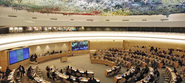 Réunion de l'ONU sur les Droits de l'Homme. Photo DR