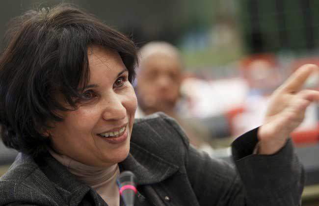 Salima Ghezali, journaliste-écrivain, députée d'Alger. Photo DR.