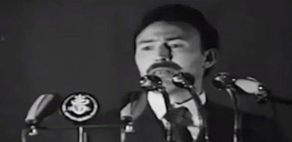 Le président annonce la nationalisation