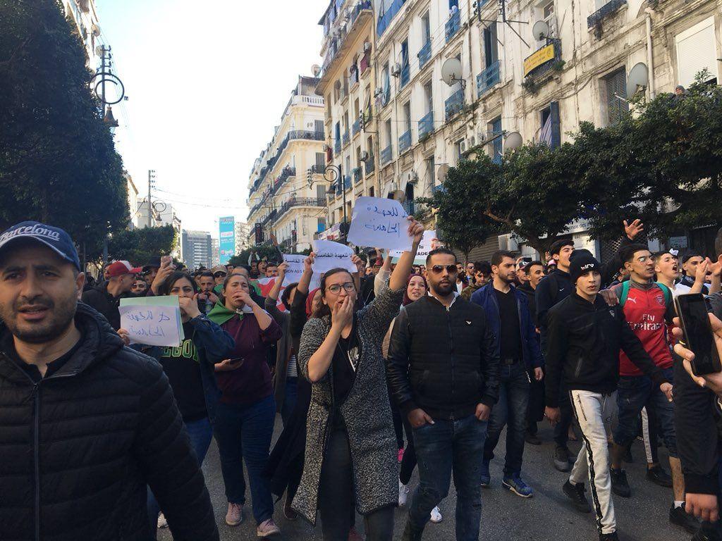 Mars 2019 à Alger. Photo DR