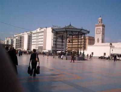 Place des Martyrs restaurée, Alger. Photo DR