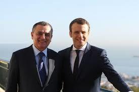En 2017, le ministre de l'industrie Bouchouareb soutenait le candidat Macron et réciproquement. Photo DR
