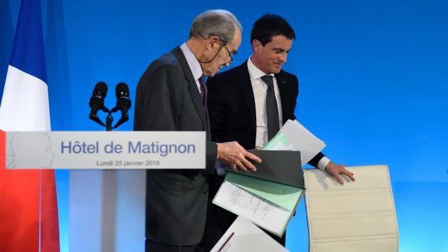 Remise du rapport du Comité Badinter le 25 janvier 2016
