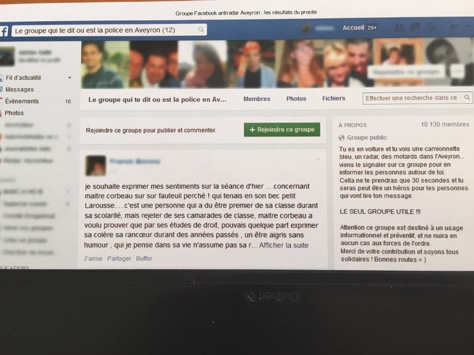Pages Facebook anti radars: la Cour de cassation confirme la relaxe des conducteurs qui signalent la présence des radars sur les réseaux sociaux