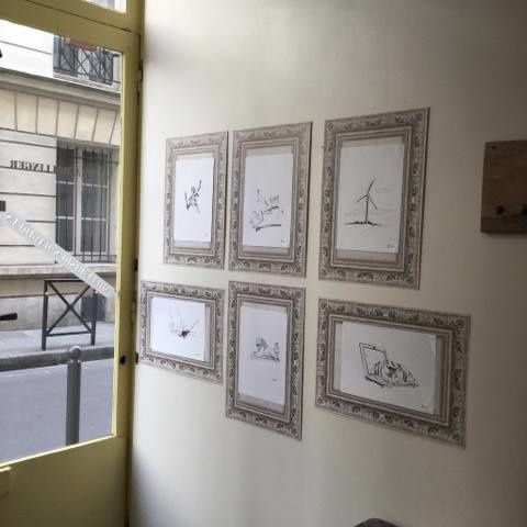 exposition des illustrations du blog jusqu 39 au 27 f vrier 2017 au 3 rue th r se paris 1er le. Black Bedroom Furniture Sets. Home Design Ideas