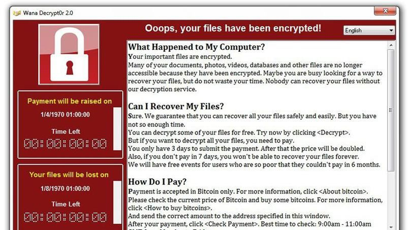 Attention aux ransomwares: le rançongiciel WannaCry arrive en France
