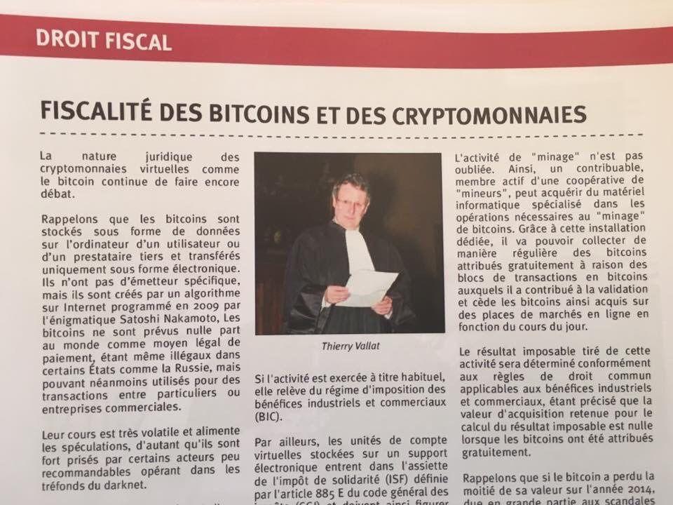 Fiscalite Des Bitcoins Et Des Cryptomonnaies En France Le Blog De
