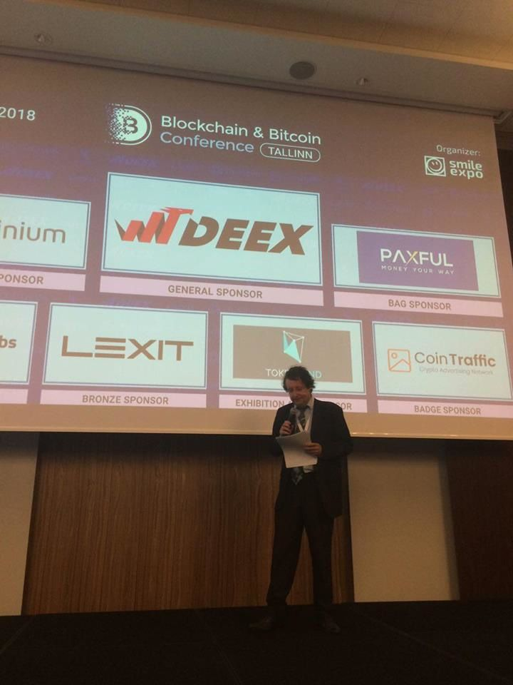 Blockchain and Bitcoin Conference in Tallinn dedicated to blockchain, cryptoassets, and ICOs: March 22, 2018
