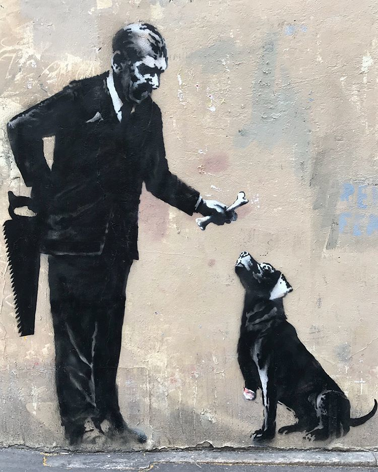 Banksy ou Invader à Paris: quelle protection des oeuvres de street art en France ?