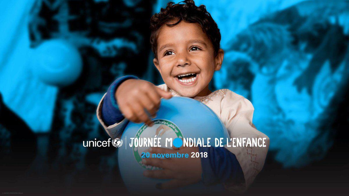 #Goblue: le 20 novembre 2018 est la Journée internationale des droits de l'enfant