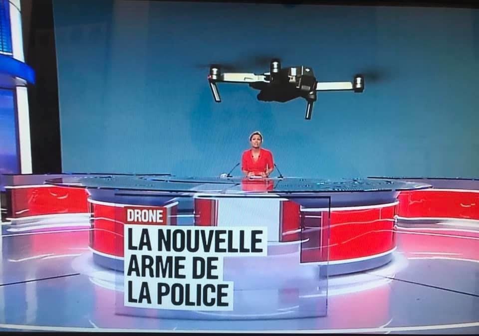 Drones de surveillance: Me Thierry Vallat sur France 2 le 3 juin 2019
