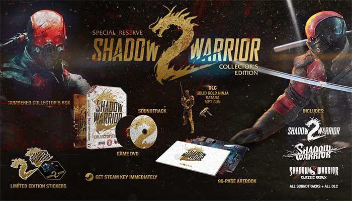 Shadow Warrior 2 Special Reserve Collector's Edition