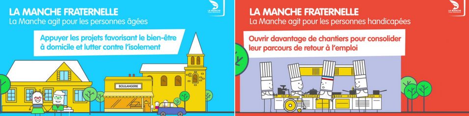 #Normandie : LA #MANCHE FRATERNELLE en video !! #Handicap #vieillesses