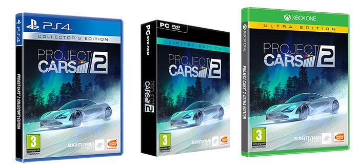 La date de sortie de Project Cars 2 annoncée !