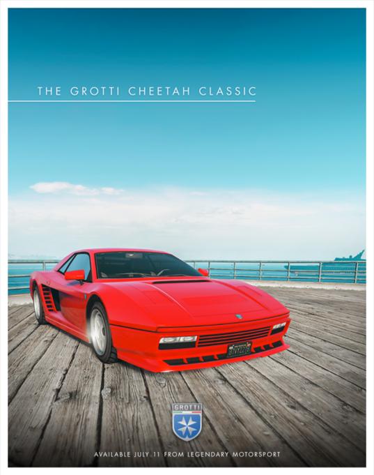 La Grotti Cheetah classique, le nouveau mode Sauts au but groupés et des bonus à découvrir maintenant dans #GTAOnline