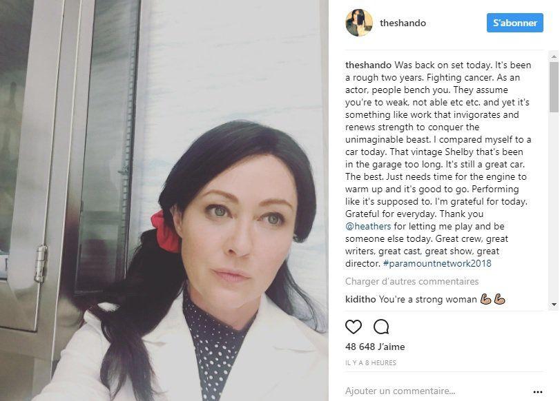 People : Shannen Doherty de retour dans une série TV aprés son #cancer du sein !