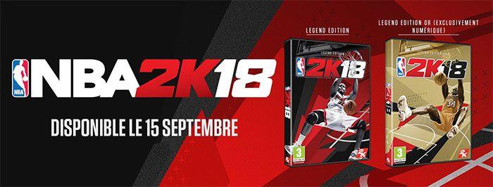 NBA 2K18 est disponible !