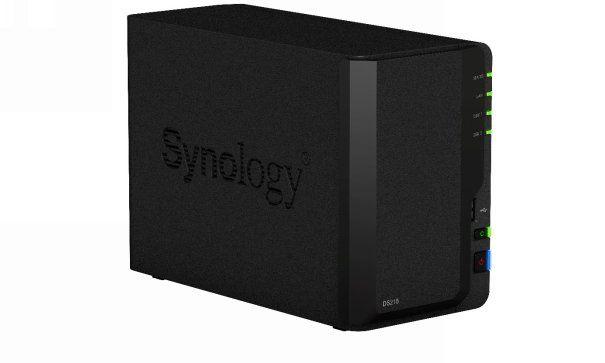Synology® DS218 : performances exceptionnelles dans un petit format !!