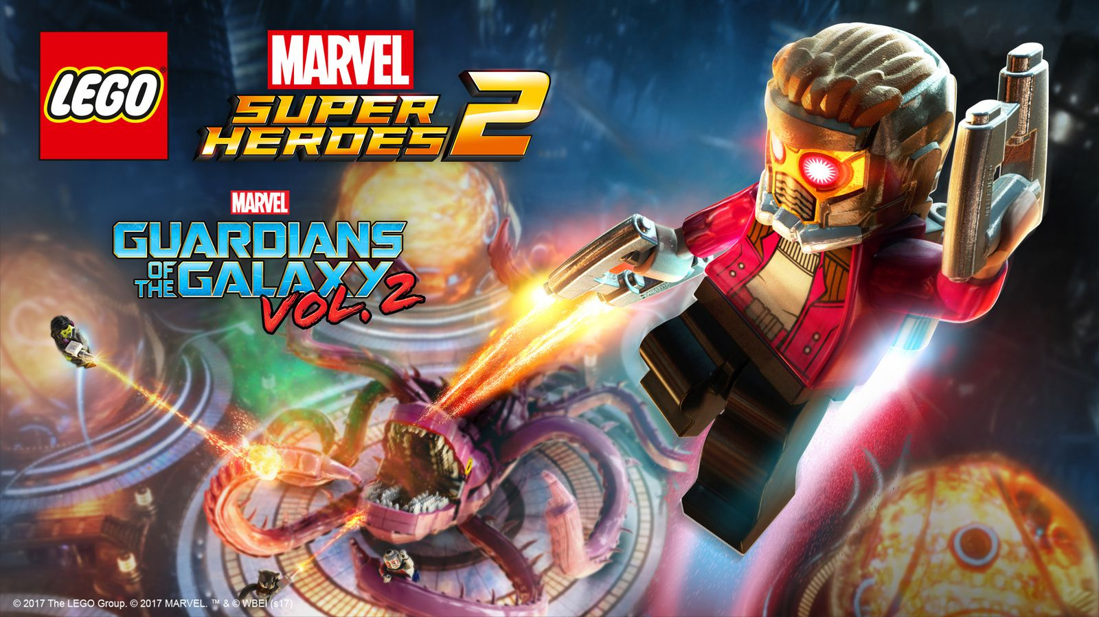 LEGO® Marvel Super Heroes 2 ajoute un Pack Aventure inspiré des Gardiens de la Galaxie : Vol. 2 de Marvel Studios !