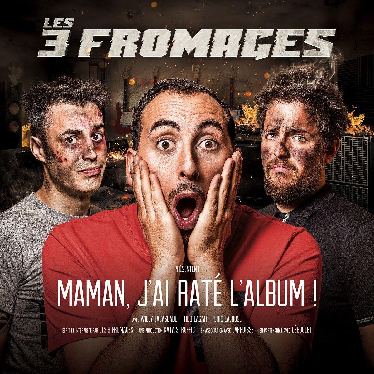#Decouverte #Musique - Les 3 Fromages Maman J'ai raté l'album! nouvel OPUS !