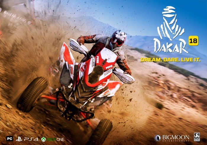 Bigmoon Entertainment et Deep Silver annoncent Dakar 18 sur #XboxOne et #PS4 !