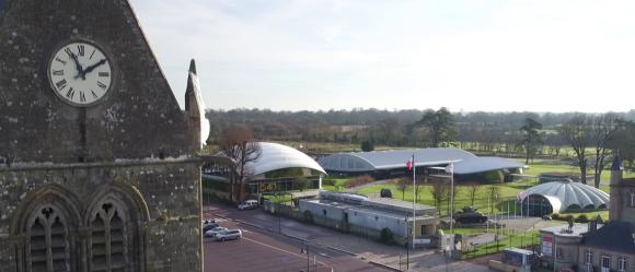 #Normandie : Une nouvelle pièce rarissime fait son entrée au Airborne Museum !