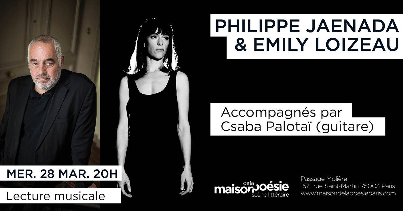 #Culture : MARS À LA MAISON DE LA POÉSIE #PARIS | Les dates à ne pas manquer !