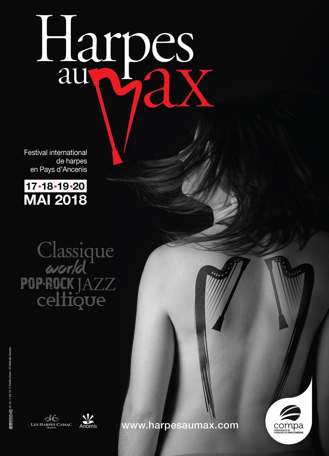 #Festival - Ouverture de la billetterie du festival Harpes au Max !