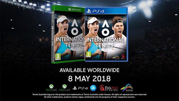 #Gaming - Big Ant Studios dévoile AO International Tennis sur #XBOXONE et #PS4 !