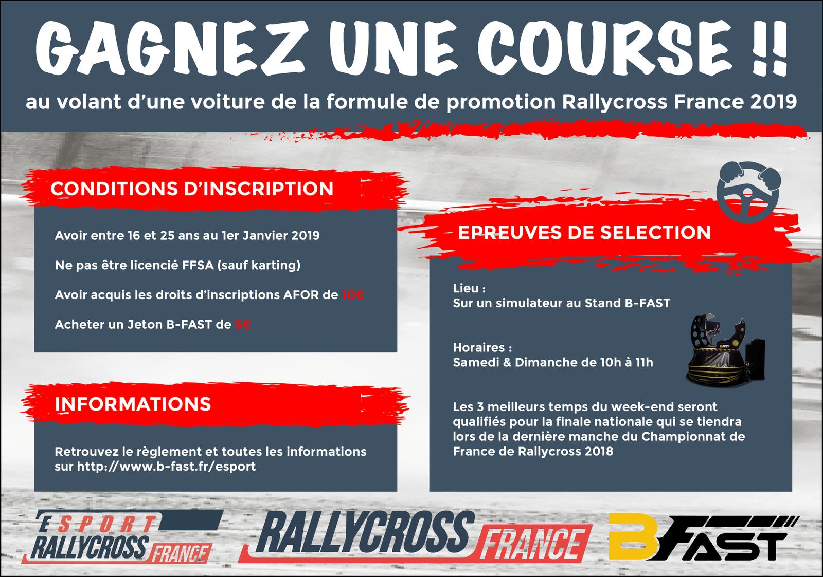Rallycross France : Le #ESport Rallycross France se dévoile !