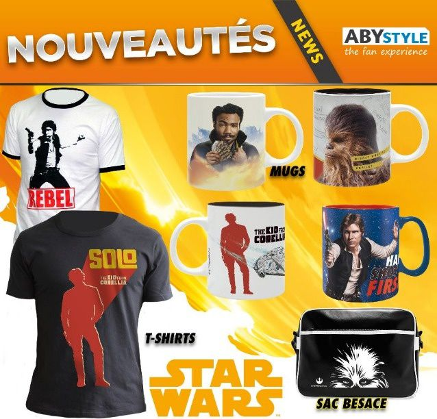 #Culture #Geek - Solo: A Star Wars Story débarque chez #ABYstyle !