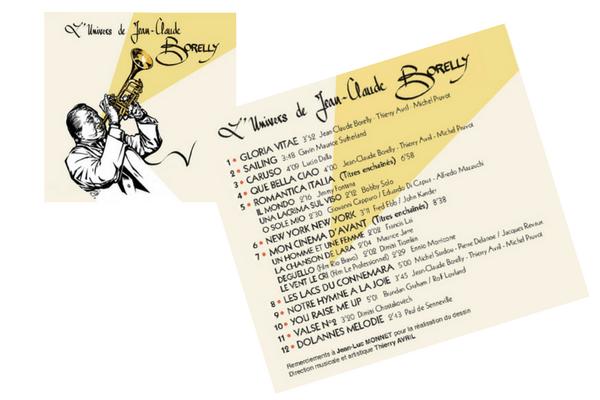 #Musique - L'Univers de Jean-Claude Borelly - Un nouveau CD à découvrir !