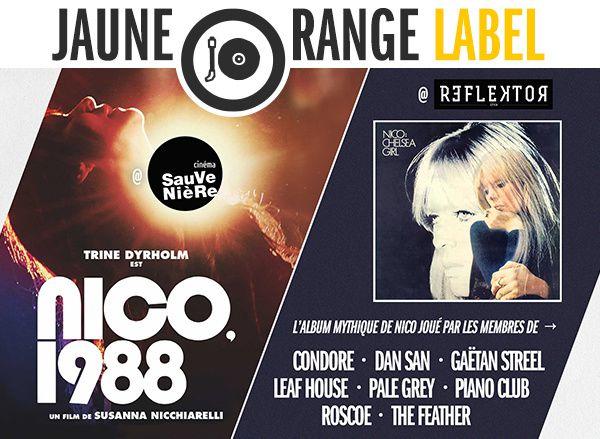 #Cinema - #Musique - UNE SOIRÉE AUTOUR DE L'ICONE NICO - LE 16 MAI AU CINÉMA SAUVENIÈRE et AU REFLEKTOR !
