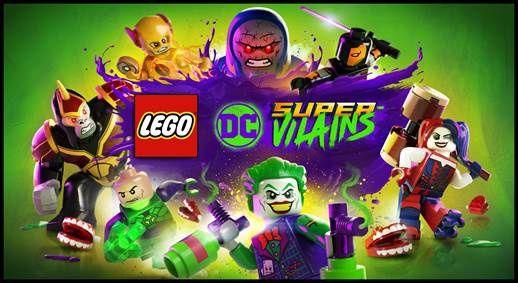 #Gaming - WARNER BROS. INTERACTIVE ENTERTAINMENT, TT GAMES, THE LEGO® GROUP ET DC ENTERTAINMENT VOUS PRÉSENTENT LEGO® DC SUPER-VILAINS