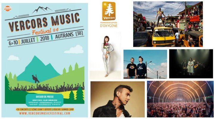 Vercors Music Festival : Une programmation au sommet dans le Vercors !