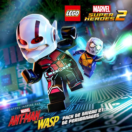 #Gaming - LEGO® Marvel Super Heroes 2 ajoute un Pack Aventure Ant-Man et la Guêpe  inspiré du film de Marvel Studios