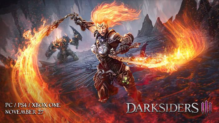 #Gaming - Darksiders III sera disponible le 27 novembre prochain ! + Collector !