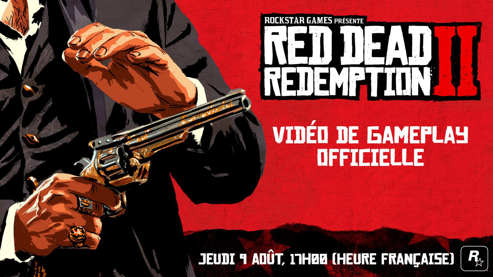 #Evenement #RDR2 - VIDÉO DE GAMEPLAY OFFICIELLE DE RED DEAD REDEMPTION 2 !
