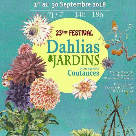 Fête des dahlias à Coutances du  01 au 30 septembre !