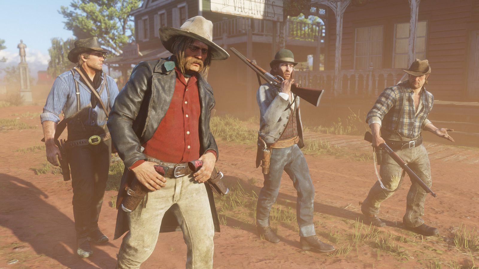 #Gaming #RDR2 - Découvrez-en plus sur les villes et les Frontiéres en images dans Red Dead Redemption 2 !!